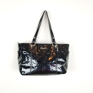 Coach~ Gallery Patent Leather Tote